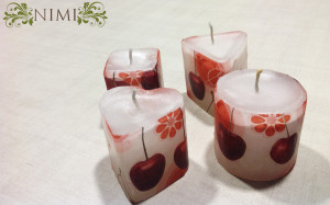 The Cherry candles