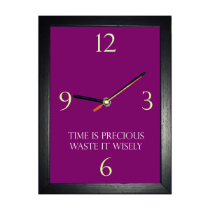 Time is Precious Square